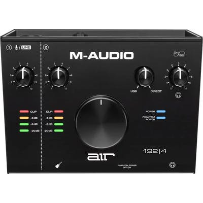 M-Audio AIR 192 4 - 2-In/2-Out 24/192 USB Audio Interface