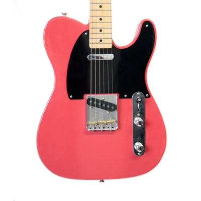 Second Hand Fender Custom Shop 52 Telecaster Fiesta Red Closet Classic