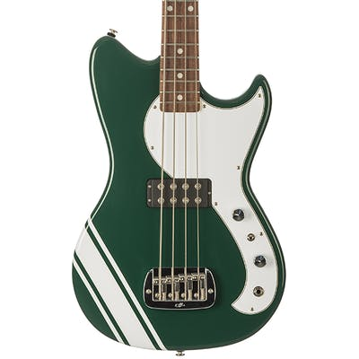 G&L USA Fallout Short Scale Bass in British Racing Green