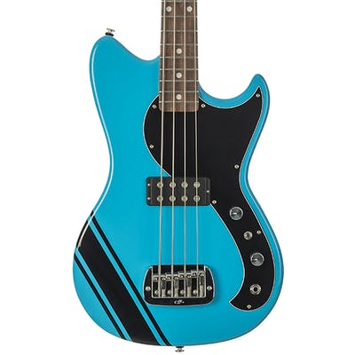 G&L USA Fallout Short Scale Bass in Miami Blue