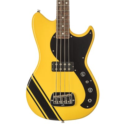 G&L USA Fallout Short Scale Bass in Racing Yellow