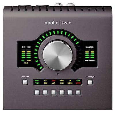 Universal Audio Apollo Twin MkII Solo Thunderbolt Interface