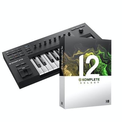 Native Instruments Komplete Kontrol A25 Bundle with Komplete 12 Select