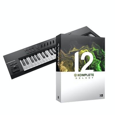 Native Instruments Komplete Kontrol A49 Bundle with Komplete 12 Select
