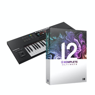 Native Instruments Komplete Kontrol S49 Mk2 with Komplete 12 Ultimate Upgrade