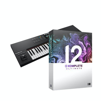 Native Instruments Komplete Kontrol S61 Mk2 with Komplete 12 Ultimate Upgrade