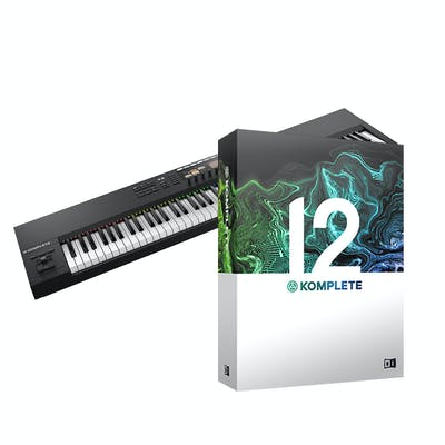 Native Instruments Komplete Kontrol S88 Mk2 with Komplete 12 Upgrade