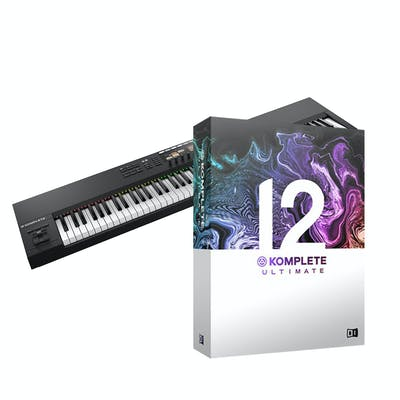 Native Instruments Komplete Kontrol S88 Mk2 with Komplete 12 Ultimate Upgrade