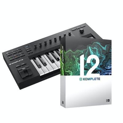 Native Instruments Komplete Kontrol A25 with Komplete 12 Bundle