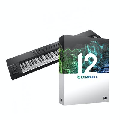 Native Instruments Komplete Kontrol A61 with Komplete 12 Bundle
