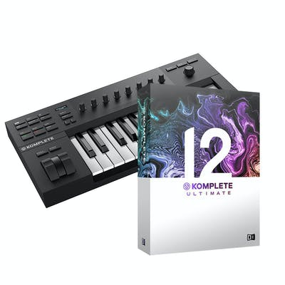 Native Instruments Komplete Kontrol A25 w/ Komplete 12 Select and Komplete 12 Ultimate  Upgrade
