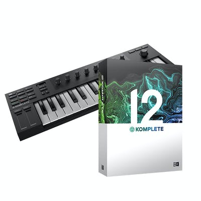 Native Instruments Komplete Kontrol M32 with Komplete 12 Bundle