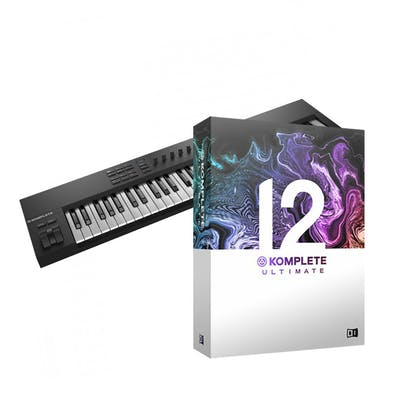 Native Komplete Kontrol A61 Bundle with Komplete 12 Select and Komplete 12 Ultimate Upgrade