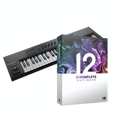 Native Instruments Komplete Kontrol A49 w/ Komplete 12 Select and Komplete 12 Ultimate  Upgrade