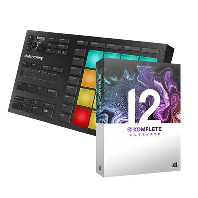 Native Maschine Mikro Mk3 bundle with Komplete 12 Select and Komplete 12 Ultimate Upgrade