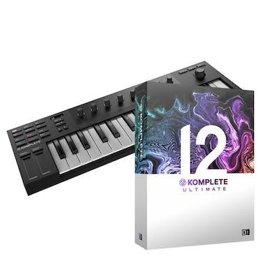 Native Komplete Kontrol M32 bundle with Komplete 12 Select and Komplete 12 Ultimate Upgrade