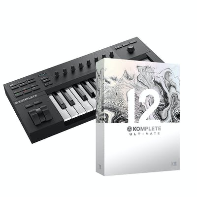 Native Instruments Komplete Kontrol A25 w/ Komplete 12 Select, Komplete 12 Upgrade to Ultimate Collector's Edition