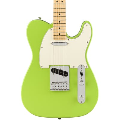 Fender FSR Ltd Edition Player Tele in Electron Green