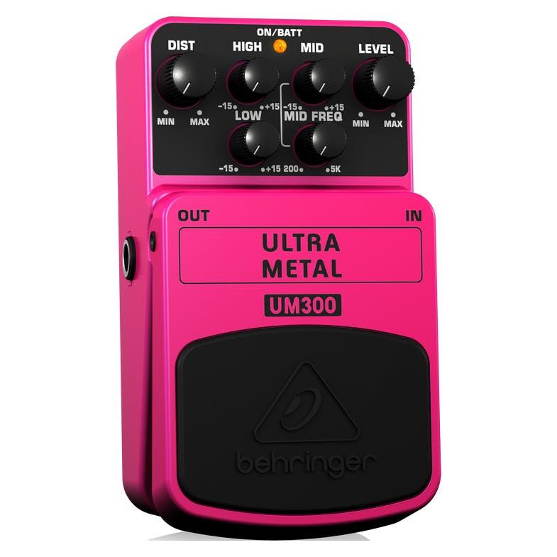 Ultra Metal UM300 Heavy Metal Distortion Instrument Effect Pedal