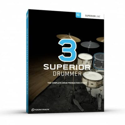Toontrack Superior Drummer 3 - Retail Boxed