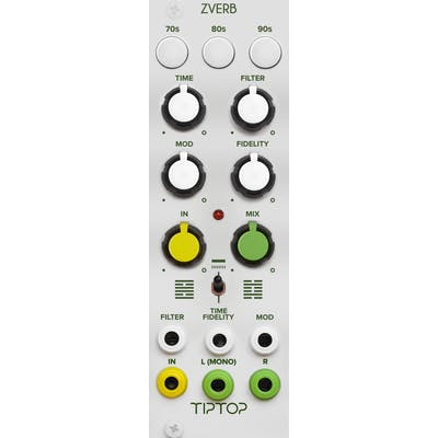 TipTop Audio - ZVERB The Reverbs Collection (White) - Eurorack Module