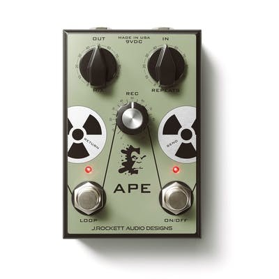 J Rockett Ape Analogue Preamp Experiment Pedal