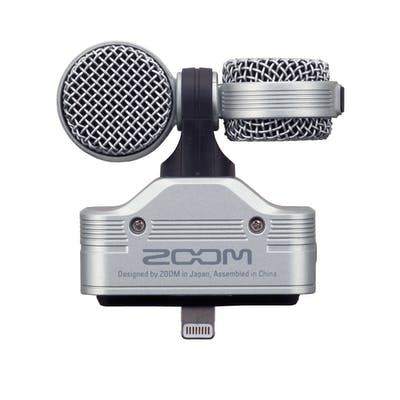 Zoom IQ7 Stereo Mic for iOS Devices