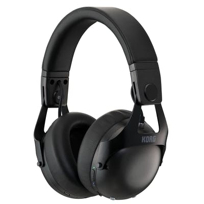 Korg NC-Q1 Smart Noise Cancelling DJ Headphones in Black