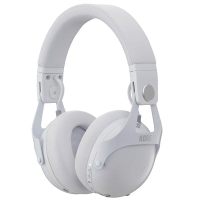 Korg NC-Q1 Smart Noise Cancelling DJ Headphones in White