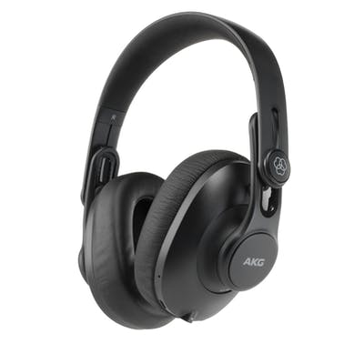 AKG K361-BT Closed-back Studio Headphones with Bluetooth