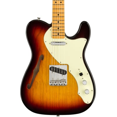 Fender American Original '60s Telecaster Thinline in 3-Tone Sunburst
