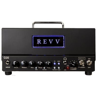 Revv G20 Lunchbox Tube Amp with Two notes Torpedo Reactive Load and Cab Sim