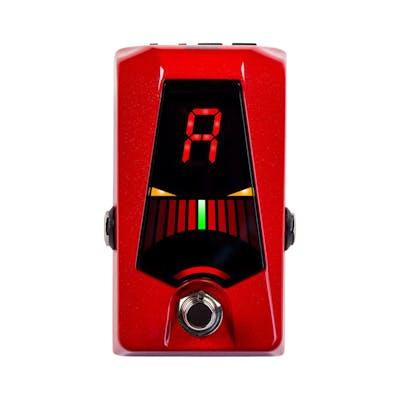 Korg Pitchblack Advance Pedal Tuner In Red