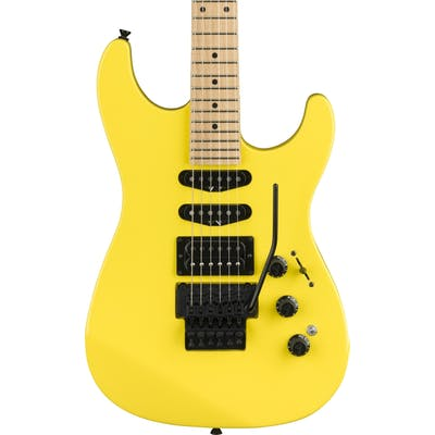 Fender Limited Edition HM Strat In Frozen Yellow