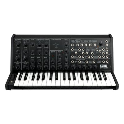 Korg MS-20 Full-size Monophonic Analogue Synth in Black