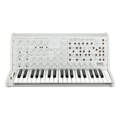 Korg MS-20 Full-size Monophonic Analogue Synth in White