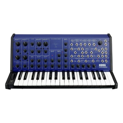 Korg MS-20 Full-size Monophonic Analogue Synth in Blue