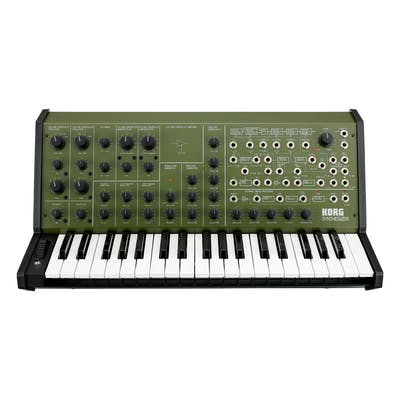 Korg MS-20 Full-size Monophonic Analogue Synth in Green