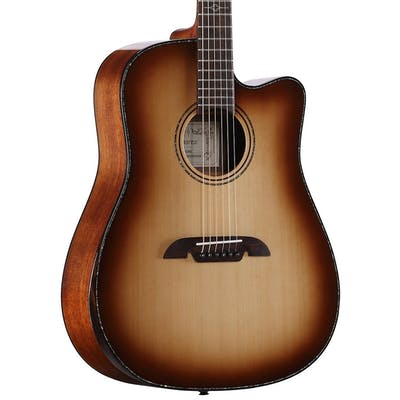 Alvarez Masterworks Elite Dreadnought Cutaway Electro Acoustic in Shadowburst