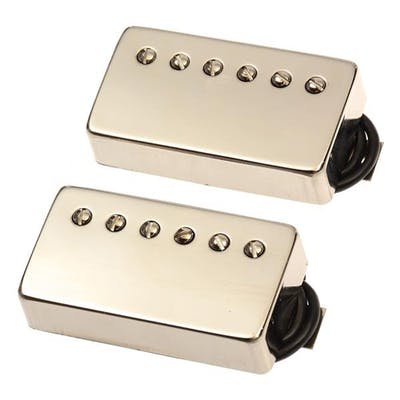 Bare Knuckle The Mule Humbucker 6 String Set with Nickel Covers