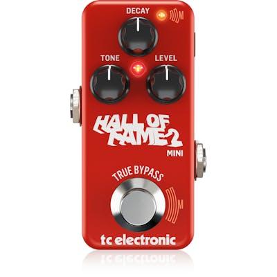 TC Electronic Hall of Fame 2 Mini Reverb Pedal