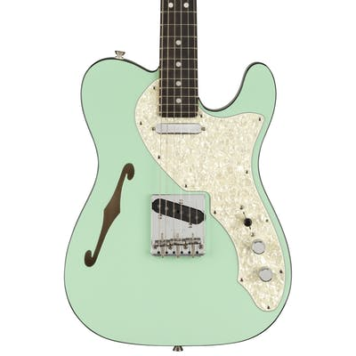 Fender Ltd Edition Two-Tone Telecaster Thinline in Surf Green