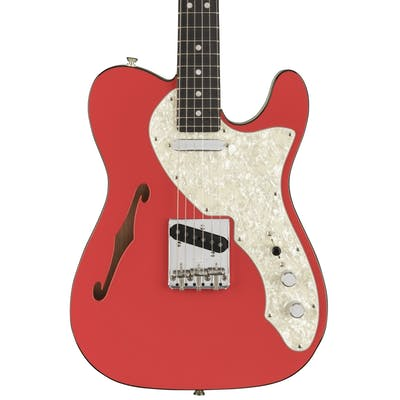 Fender Ltd Edition Two-Tone Telecaster Thinline in Fiesta Red