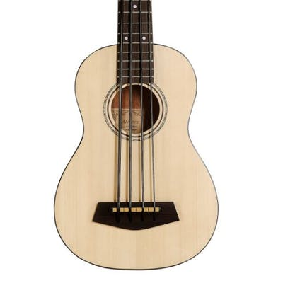 Alvarez AU60EBASS Artist Acoustic E-Bass Ukulele in Gloss Natural
