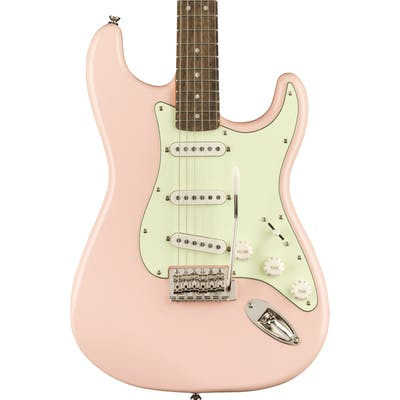 Squier Classic Vibe 60s Stratocaster in Shell Pink