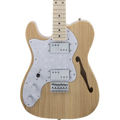 Fender MIJ Traditional '70s Telecaster Thinline Left Handed In Natural