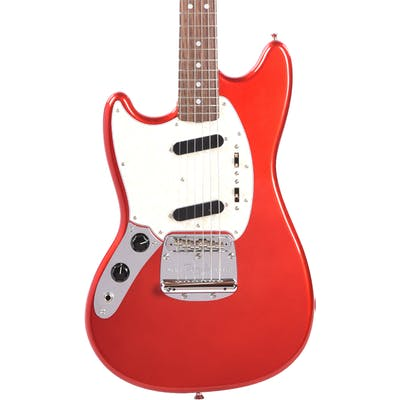 Fender MIJ Limited Edition Traditional '60s Mustang Left Handed in Candy Apple Red