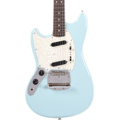 Fender MIJ Limited Edition Traditional '60s Mustang Left Handed in Sonic Blue