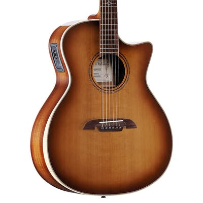 Alvarez Artist Elite Grand Auditorium Cutaway Electro Acoustic in Shadowburst Gloss