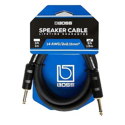 Boss 5ft / 1.5m speaker cable